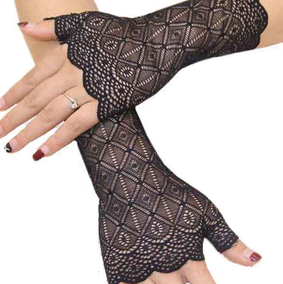 Sexy Summer Short Lace Driving Gloves