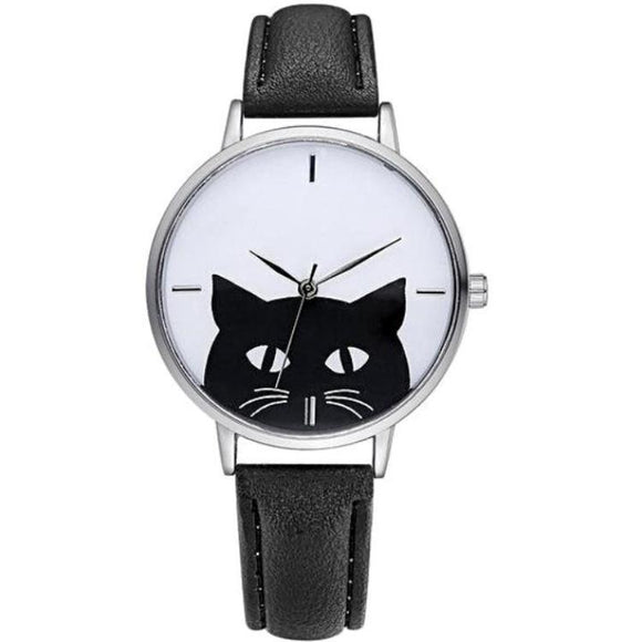 Daisy Cat & White Whiskers Watch