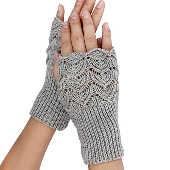 Wonderland Knit Fingerless Gloves