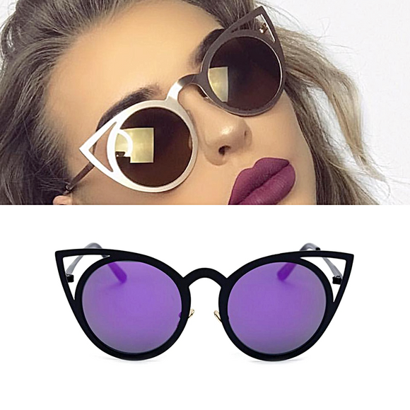 Steampunk Catty Sunglasses