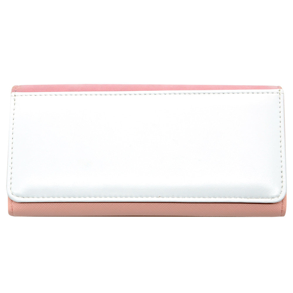 PU lady wallet with gift box - Pink - 50pcs