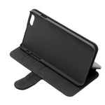 iPhone 6S Plus - Black -Tablet (Leather flip)  Case - 50pcs