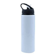 600ML-Portable Aluminum Bottle-White-60pcs