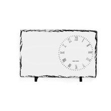 25 x 40 Photo Clock Rock Slate - Glossy - 7pcs