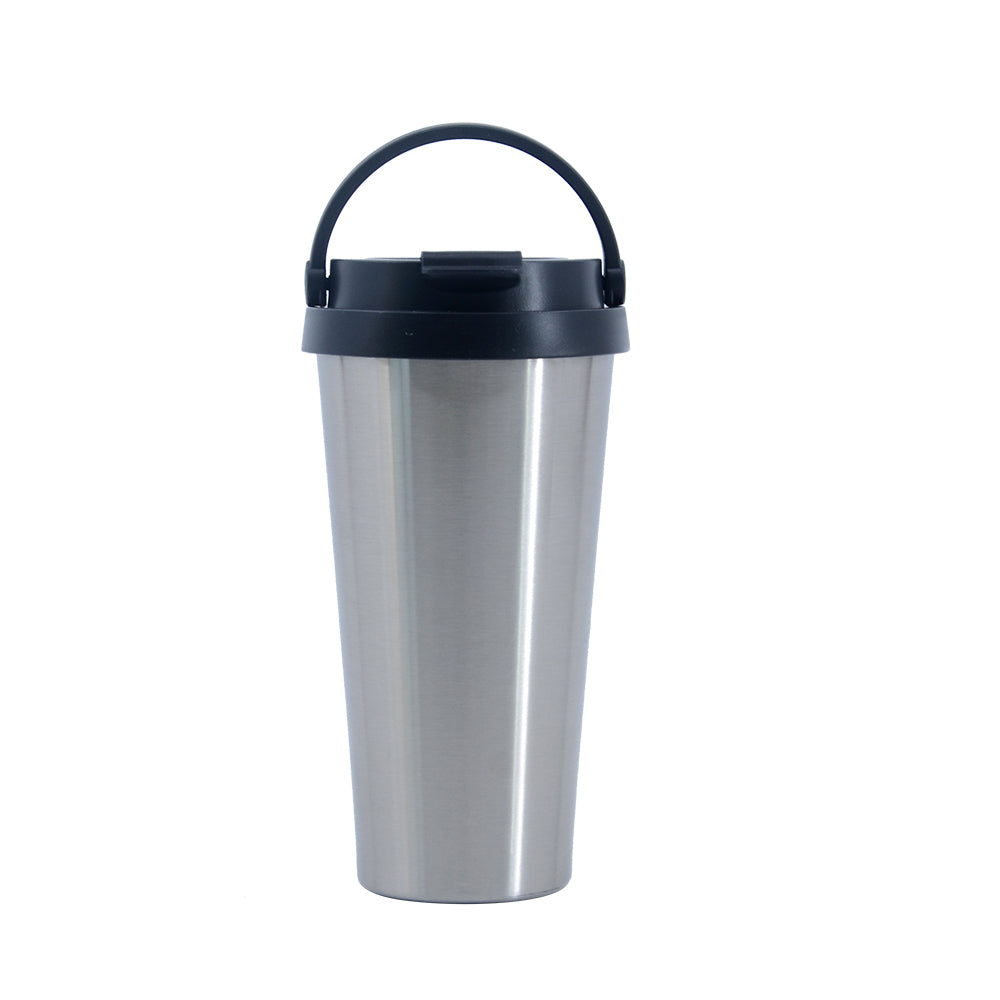 500ml Stainless Steel Bottle - Silver- 50pcs