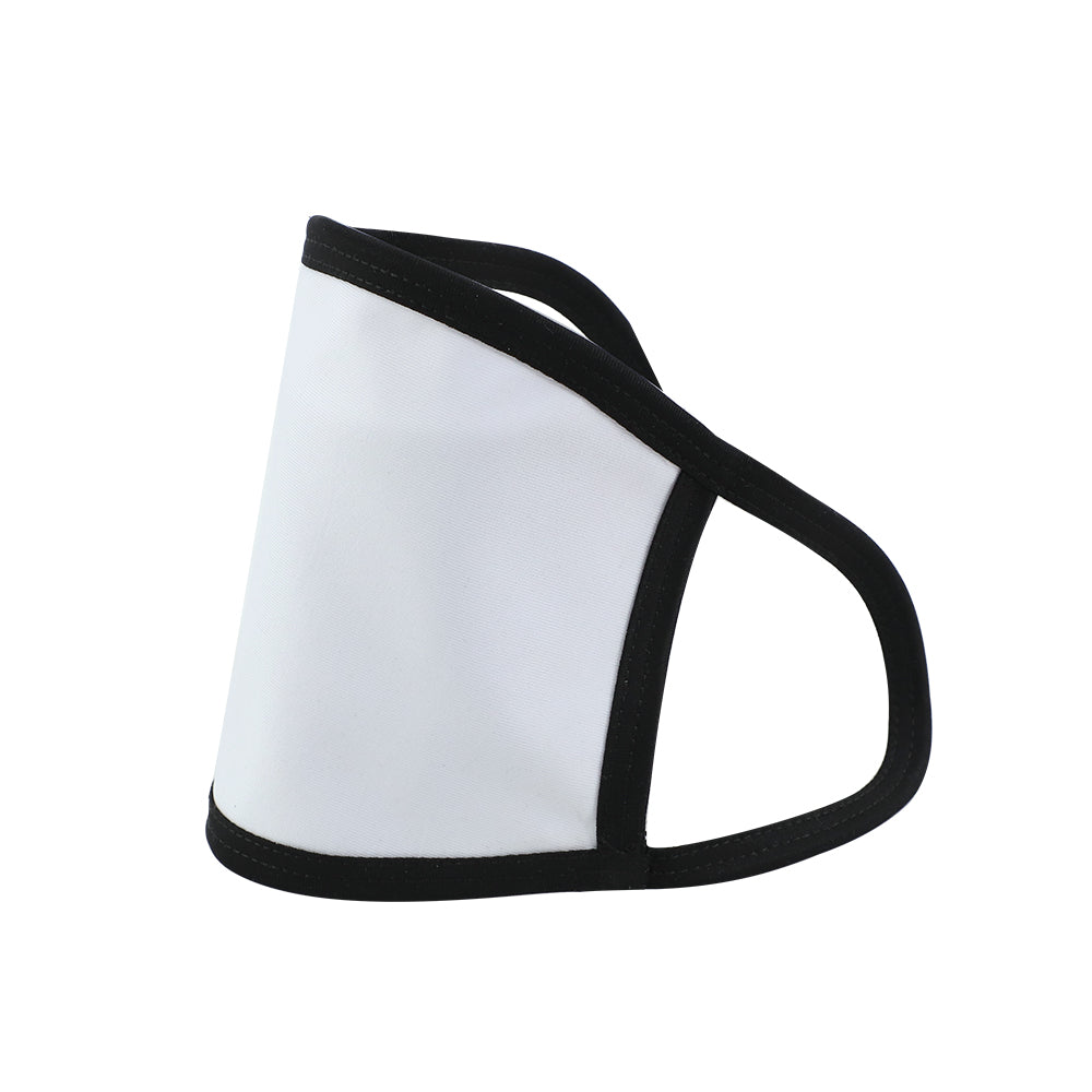 Sublimation Face Mask For Men with Black Edge(13*18.5cm) - 100PC
