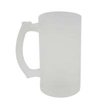 16oz Glass Beer Mug-Frosted-24pcs