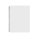 A4 Plastic Notebook - 30pcs