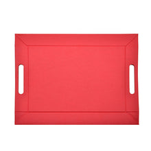 Flexi PU Serving Tray-Red-28pcs