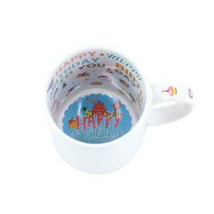 11oz Ceramic New Theme Mug-Happy Birthday-36pcs