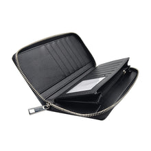 Flexi PU Wallet With Gift Box-Large-Black-50pcs