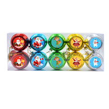 Christmas Electroplicated Plastic Bauble -8cm-10sets