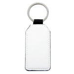 PU key chain - rectangle - 100pcs