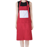 Adult apron 84*64CM-Dark Red-25pcs