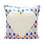Linen pillow case-Geometric-100pcs