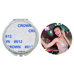 Round Pocket Compact Mirror - 100pcs