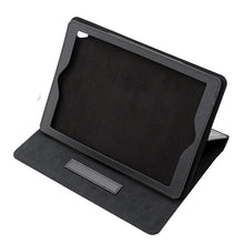 "Ipad pro 9.7"" - Black - Tablet(Leather flip) Case - 50pcs"