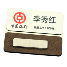 MDF Name badge with magnet - 100pcs