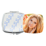 Square Pocket Compact Mirror - 100pcs