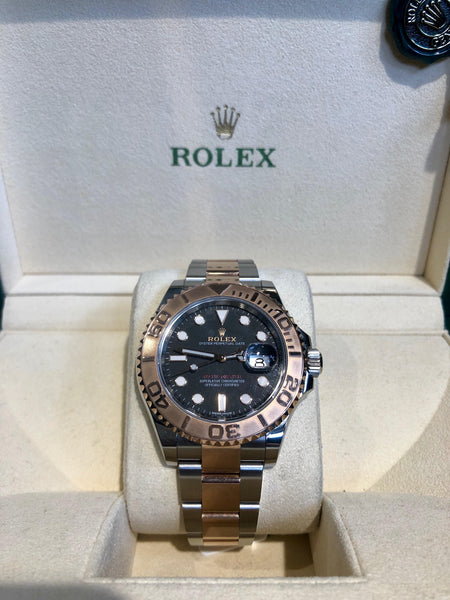 Gents Rolex Bi-metal Ever Rose Gold & Stainless Steel Yachtmaster 2018
