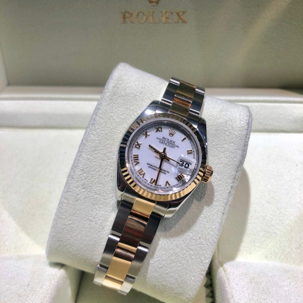 Ladies Rolex Bi-Metal Datejust