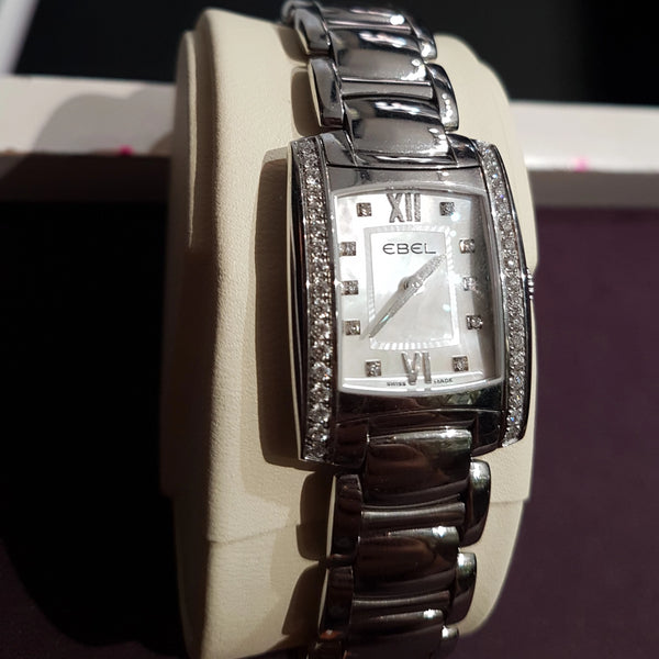 Ebel Brasilia diamond dial mini ladies watch