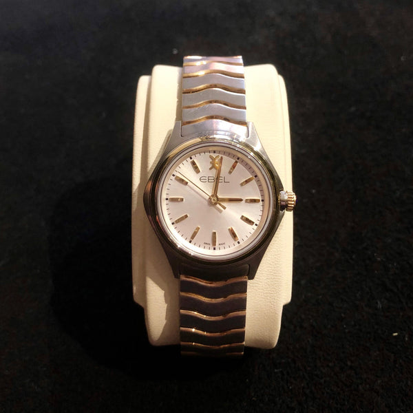 Ladies Ebel Wave Two-Tone Watch