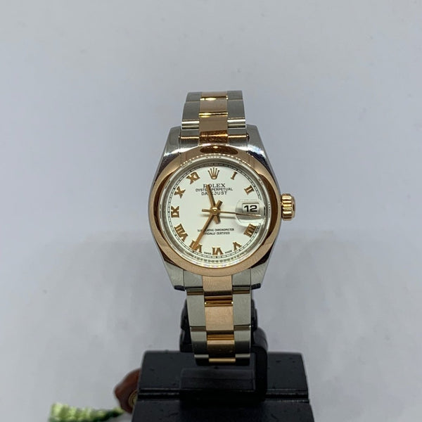 Ladies Rolex Bi-metal Oyster Perpetual Datejust