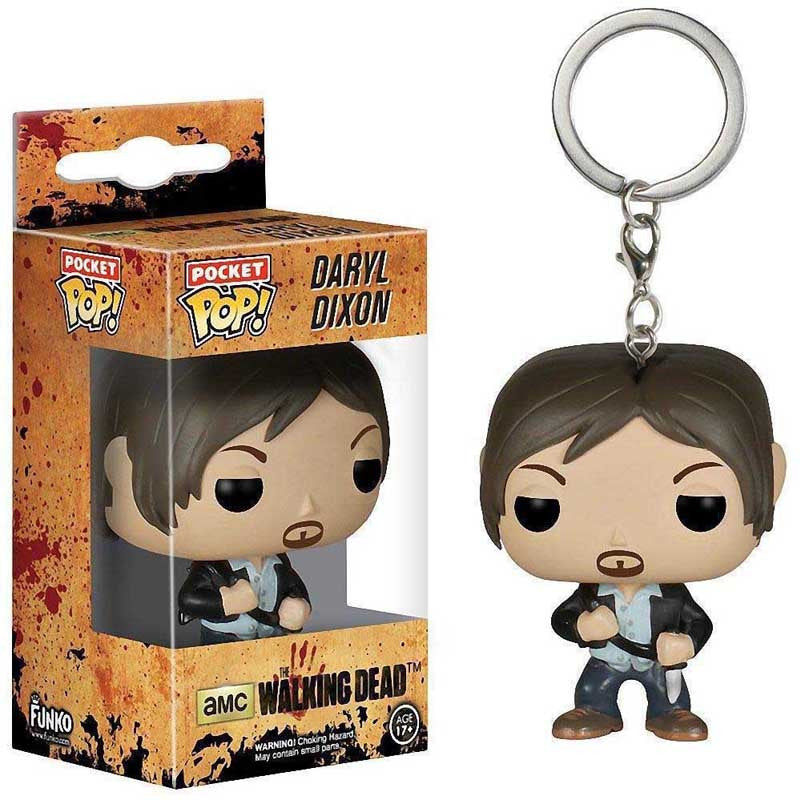 """Daryl Dixon"" The Walking Dead Key-Chain Toy"