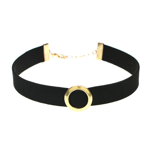 Super Cute Black Velvet Choker