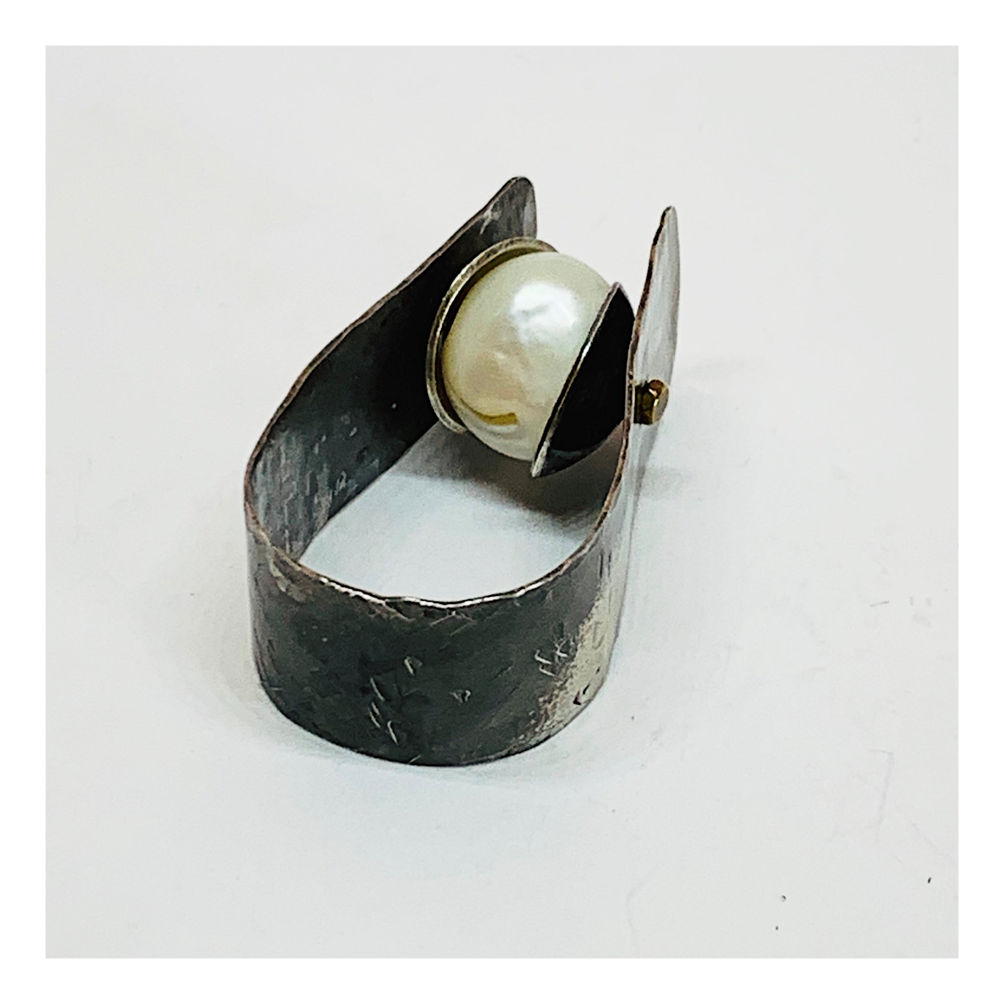Industrial Chic Statement Ring - Urban Chic Jewelry