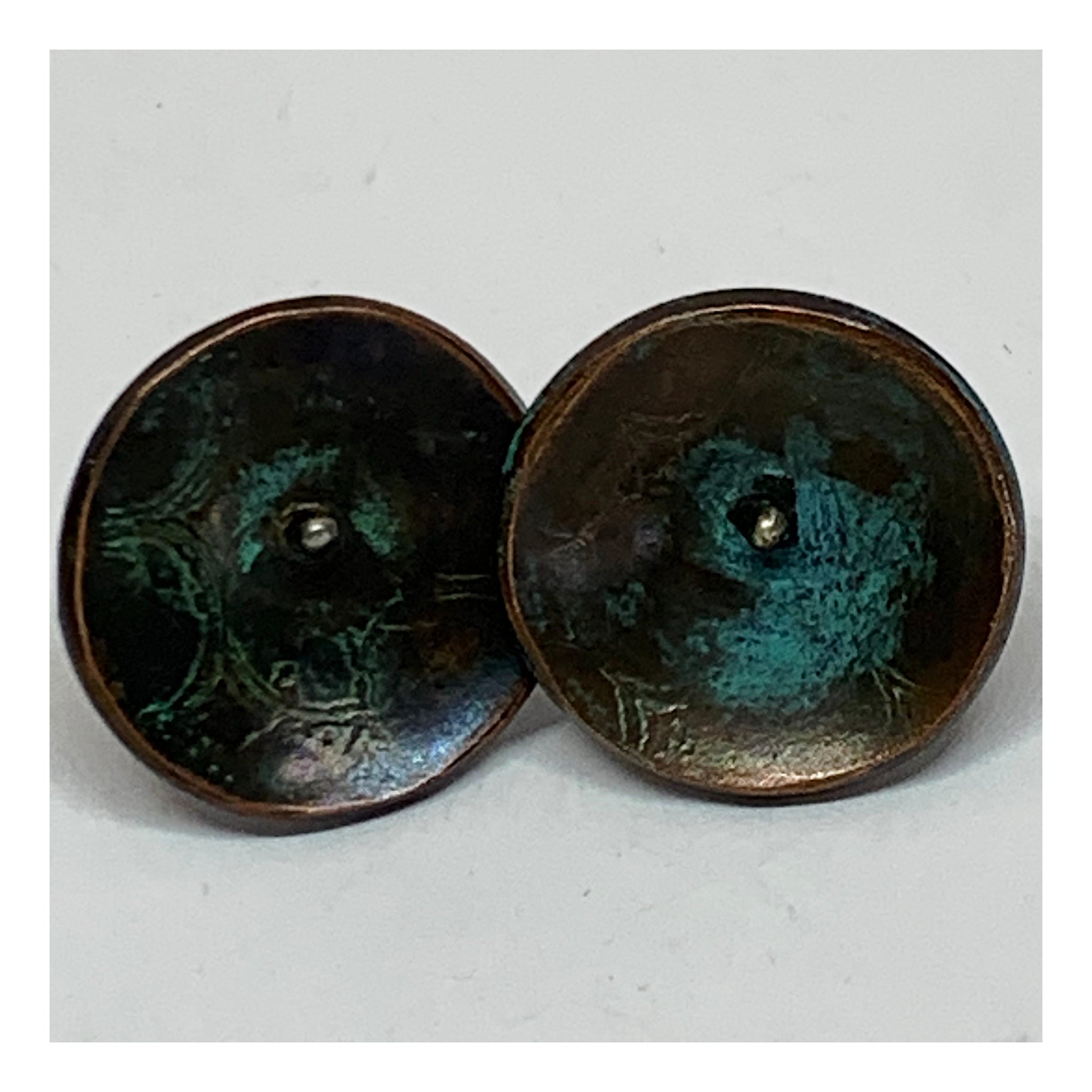 Everyday Disc Earrings - Unisex Jewelry - Earthy Earrings