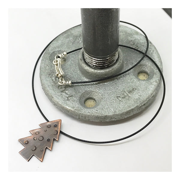 Christmas Tree Charm Choker