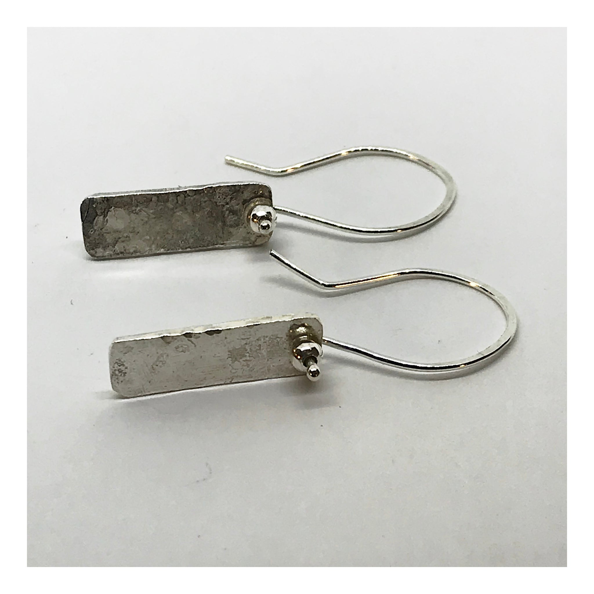 Sterling Silver Dash Earrings