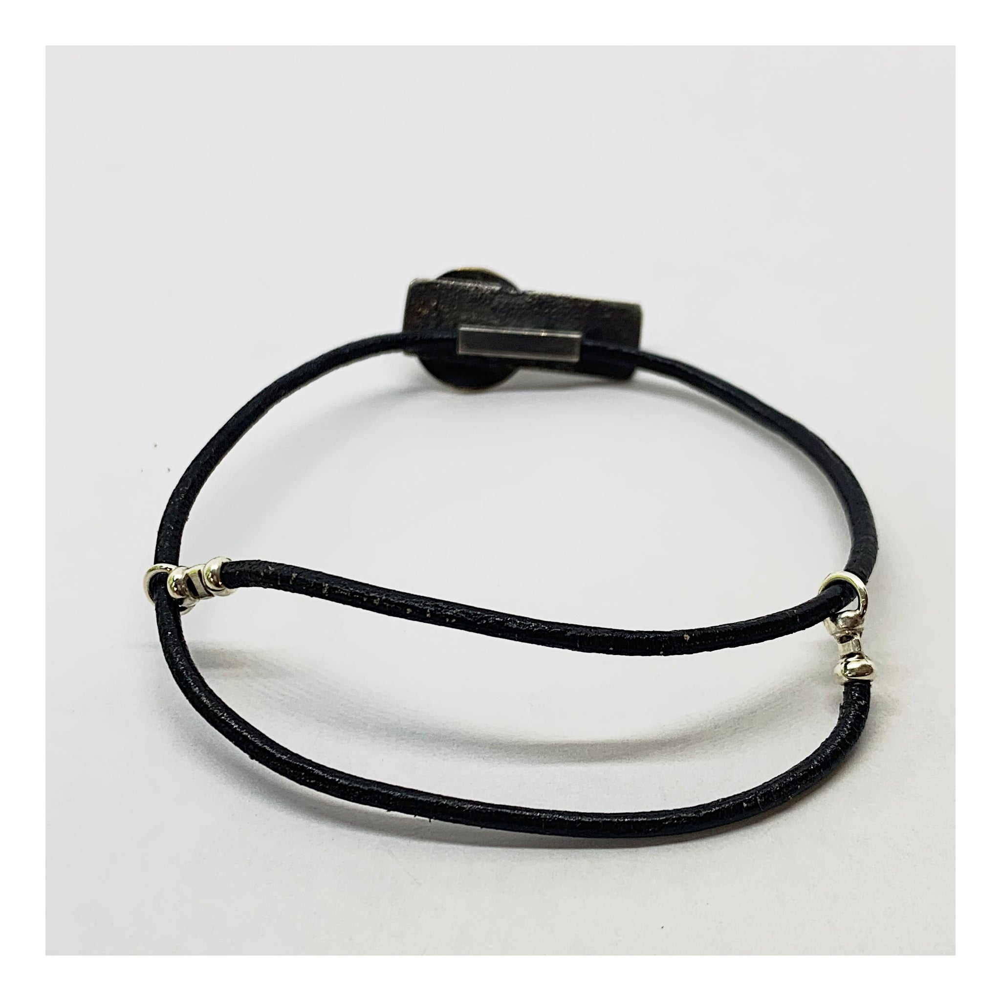 Adjustable Leather Bracelet - Checks and Dot Collection - AMaryThought Wholesale