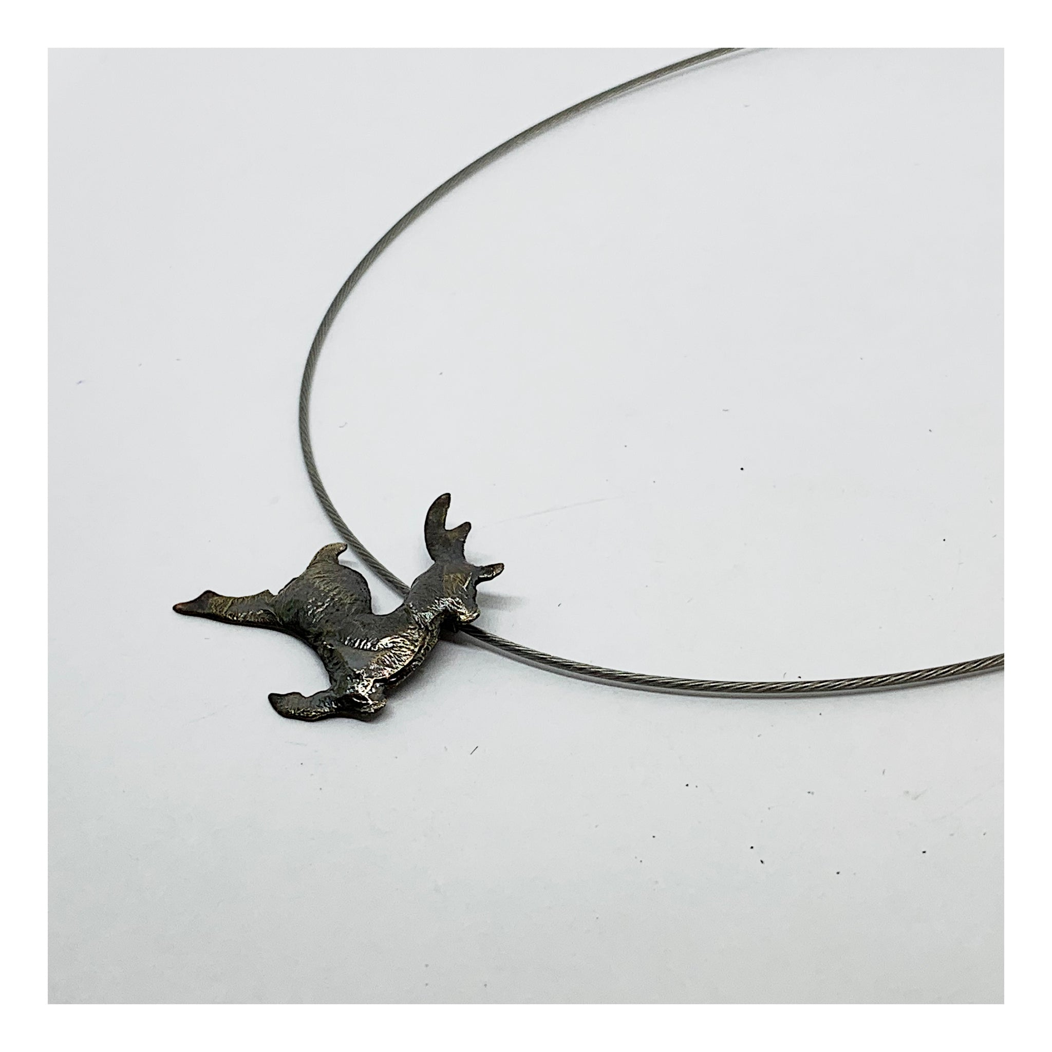 Reindeer Charm Choker - Holiday Collection- AMaryThought Wholesale
