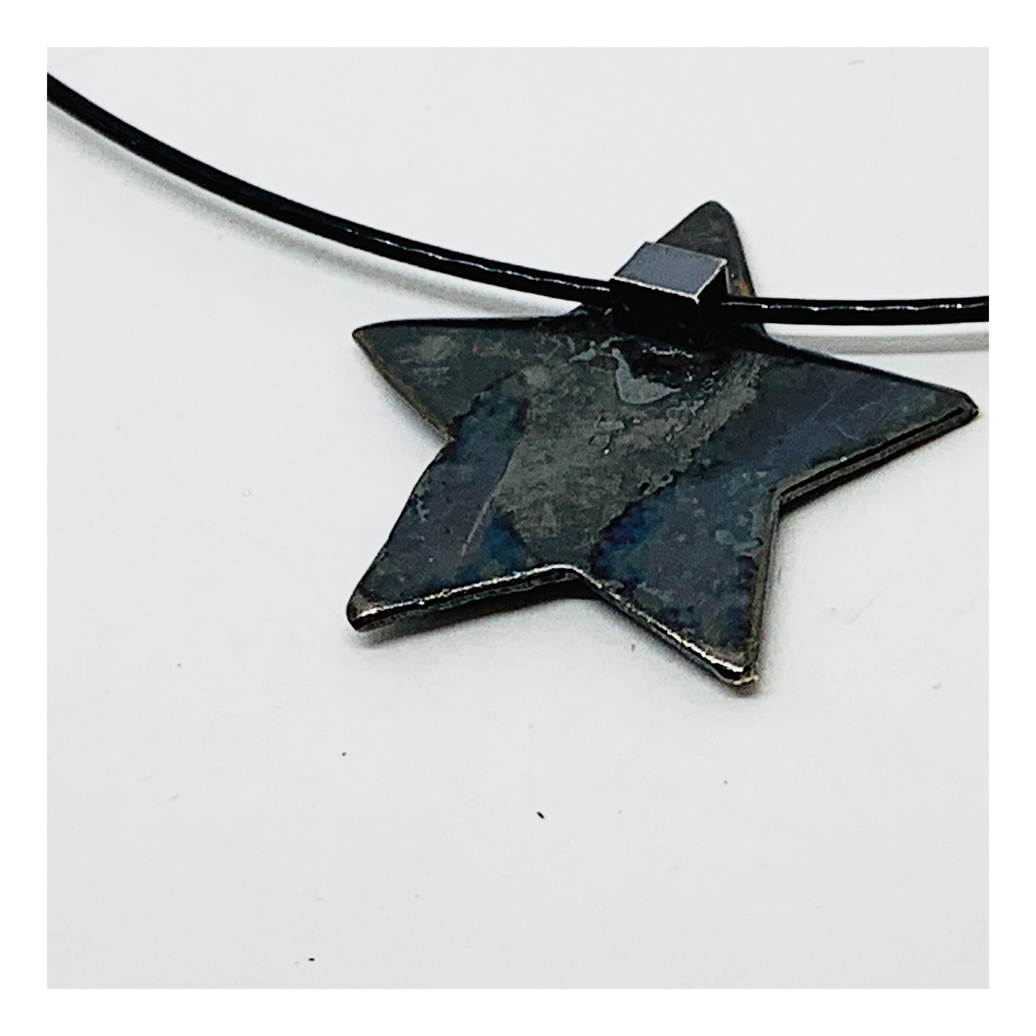 Five Point Star Charm Choker - Holiday Collection - AMaryThought Wholesale
