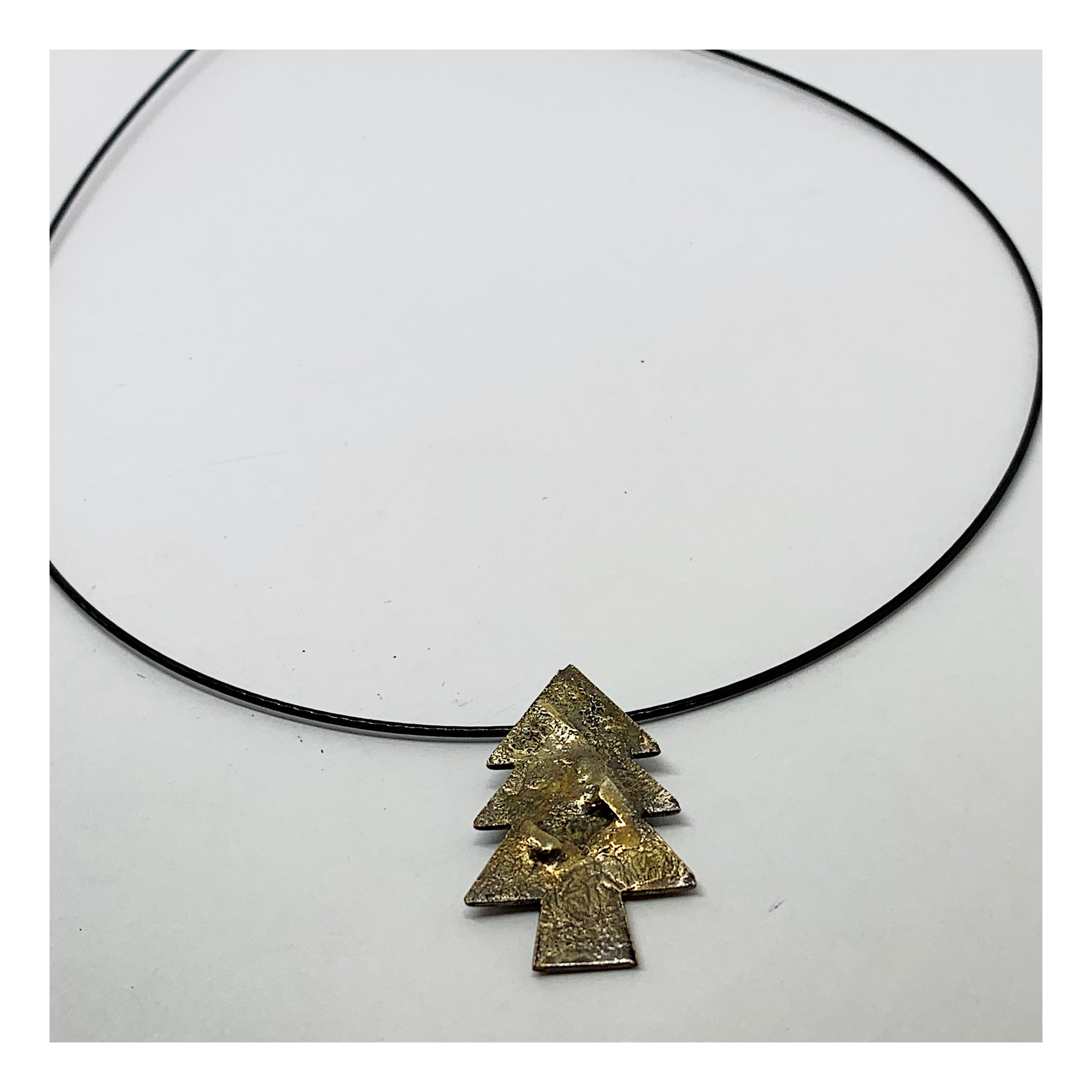 Christmas Tree Charm Choker - Holiday Collection - AMaryThought Wholesale