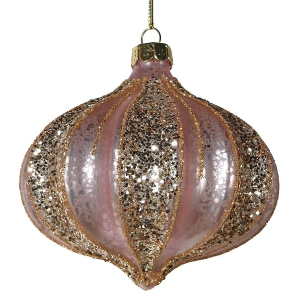 PINK AND GOLD BAUBLE