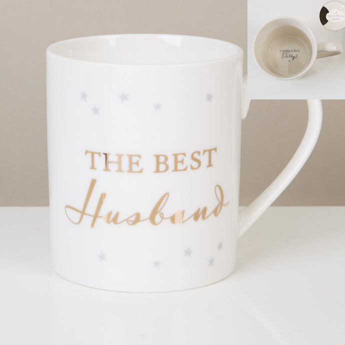 REVEAL MUG - THE BEST HUSBAND/DADDY