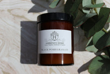 BLACK POMEGRANATE PHARMACY JAR CANDLE