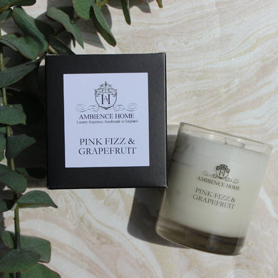 PINK FIZZ & GRAPEFRUIT CANDLE