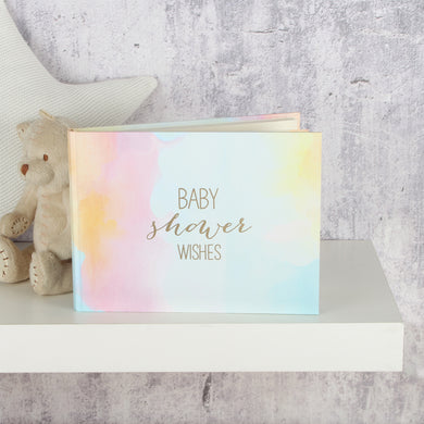 BABY SHOWER WISHES WATERCOLOUR