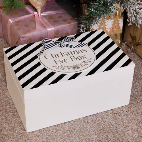 BLACK & GOLD CHRISTMAS EVE BOX