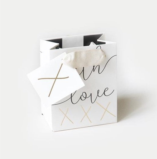 EXTRA SMALL WITH LOVE GIFT BAG