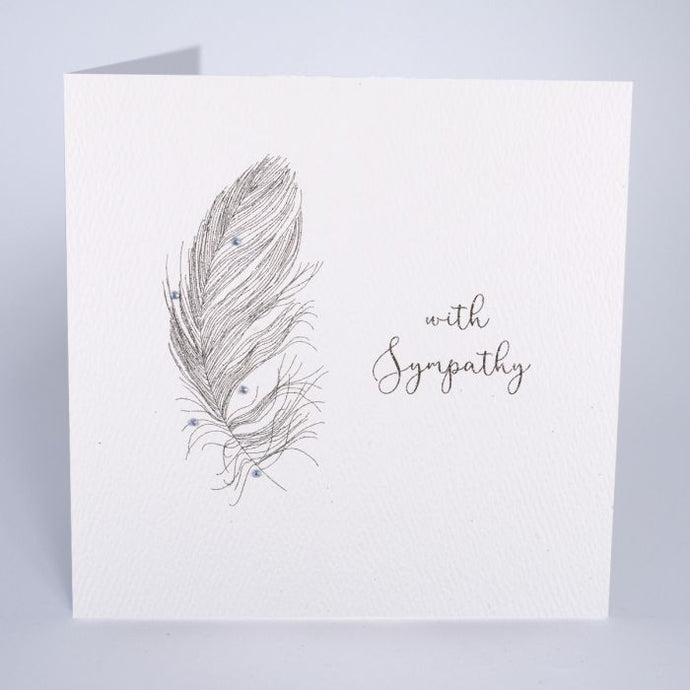 WITH SYMPATHY SMALL CARD