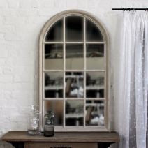 LARGE ARCH WINDOW MIRROR