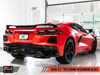 AWE Tuning 2020 Chevrolet Corvette (C8) Track Edition Exhaust - Quad Diamond Black Tips