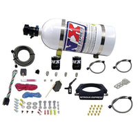 Nitrous Express LT2 C8 Nitrous Plate Kit (50-300HP) w/10lb Bottle