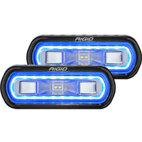 Rigid Industries SR-L Series Surface Mount LED Spreader Pair w/ Blue Halo - Universal